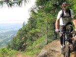 Heavy B Rides the ridge
