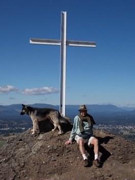 Papa and Max at the Cross