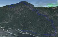 3D View of Trail