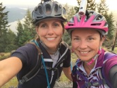 Nat and Tammi taking care of business at the Top of Maple!