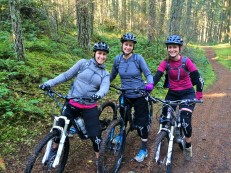 Jen, Sherri, and Michelle owning Field of Dreams!