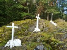 Crosses on Blue Trail