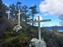 Crosses on Blue Trail