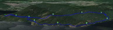 Maple - Blue / Yellow Route - Oceanside hike