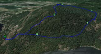 Maple - Pink / Blue Trail - Summit Route